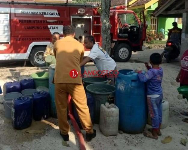 Krisis Air Bersih di Bakauheni Kian Meluas