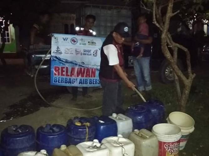 Krisis Air Bersih Dua Dusun Bakauheni Makin Parah