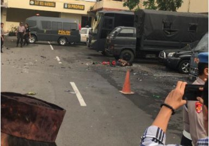 Kronologi Ledakan Bom Bunuh Diri di Polrestabes Medan