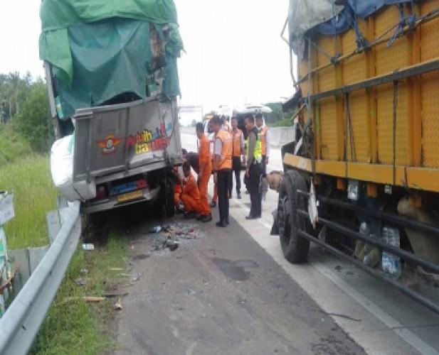 Kronologis Kecelakaan Beruntun di Jalan Tol Lematang