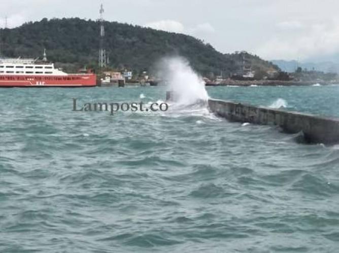 KSOP Sebut Pelayanan Kapal Feri Aman dari Ancaman Gelombang Tinggi
