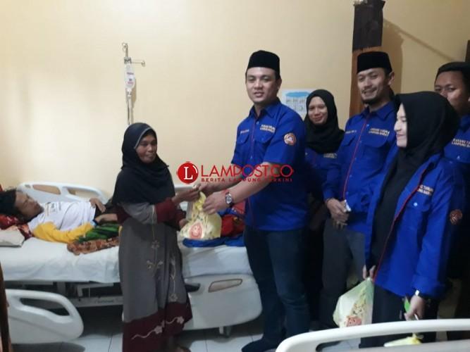 KTI Lambar Bagi Takjil dan Nasi Kotak di Rumah Sakit