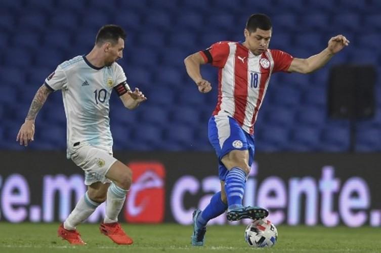 Kualifikasi PD 2022: Argentina Ditahan Imbang Paraguay 1-1