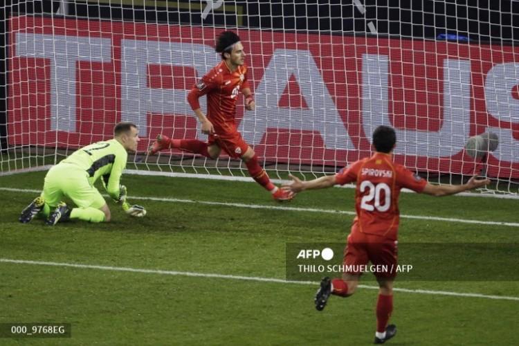 Kualifikasi Piala Dunia Zona Eropa: Jerman Takluk Lawan Makedonia