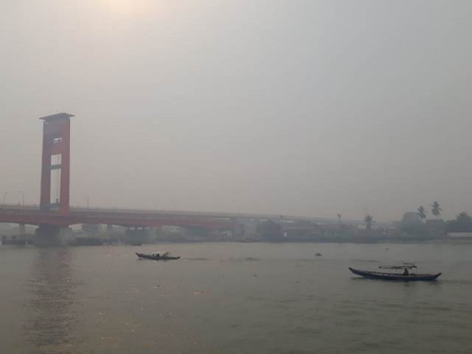 Kualitas Udara di Palembang Bahaya
