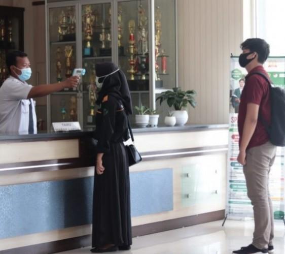 Kuliah Tatap Muka Kampus di Lampung Dimulai