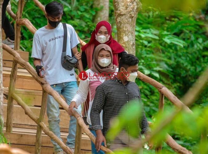 Kunjungan Wisatawan ke Lampung Naik 30 Persen