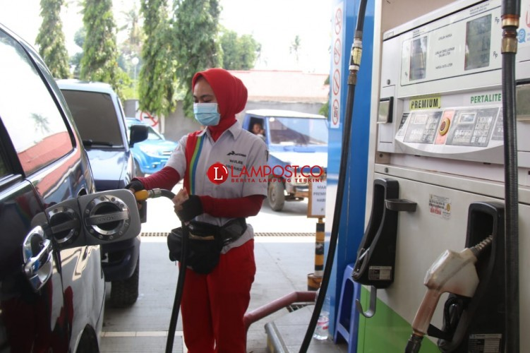 Kuota BBM Premium di Lampung 347.219 Kiloliter