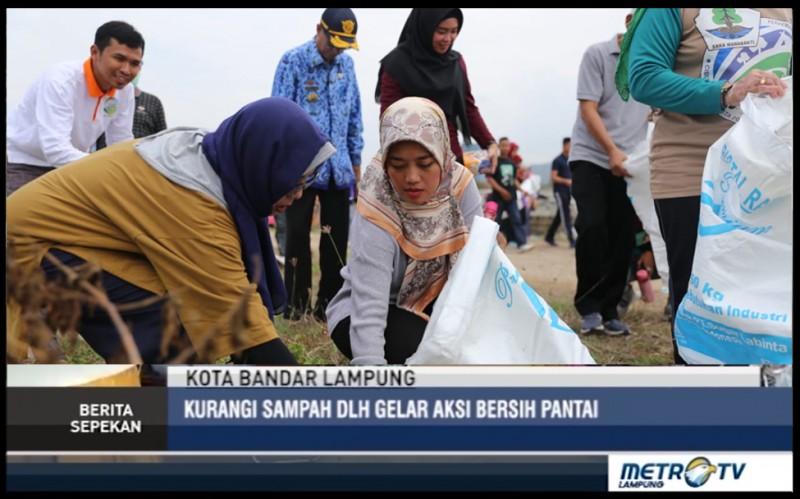 Kurangi Sampah, DLH Gelar Aksi Bersih Pantai