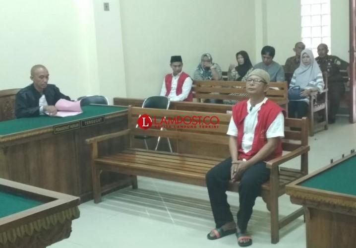 Kurir Sabu 3Kg Asal Medan Didakwa Dua Pasal Sekaligus