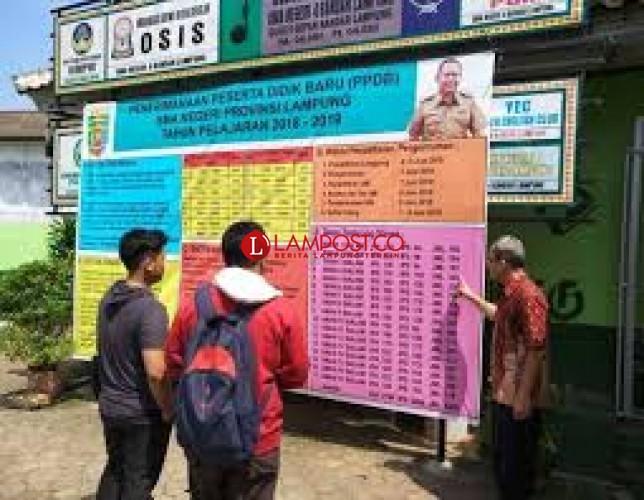Kursi PPDB SMP Negeri di Bandar Lampung Terisi 9.000 Peserta Didik