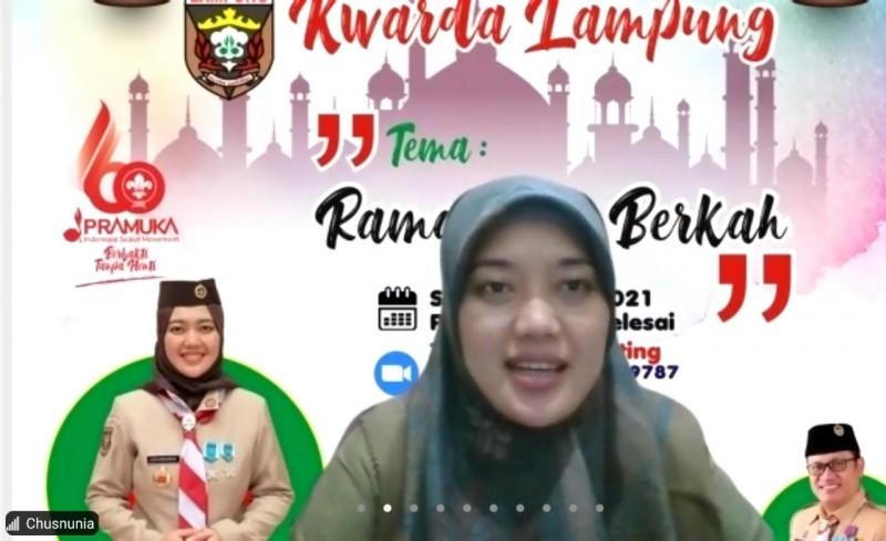 Kwarda Lampung Ajak Keluarga Pramuka Wujudkan Ramadan Berkah