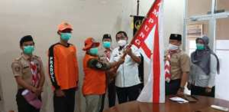 Kwarda Pramuka Lampung Kirim Relawan ke Lokasi Bencana Gempa