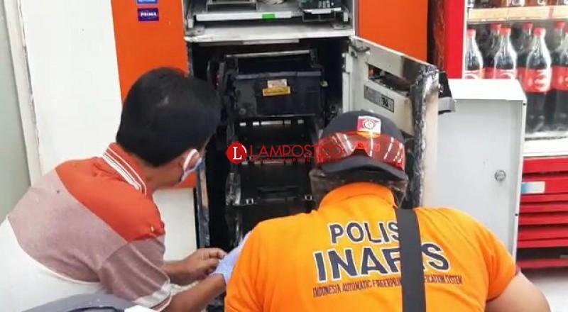 Lagi, Mesin ATM di Indomaret Dibobol Maling