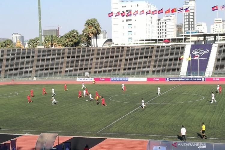 Laga Perdana Piala AFF U22, Indonesia Imbangi Myanmar 1-1