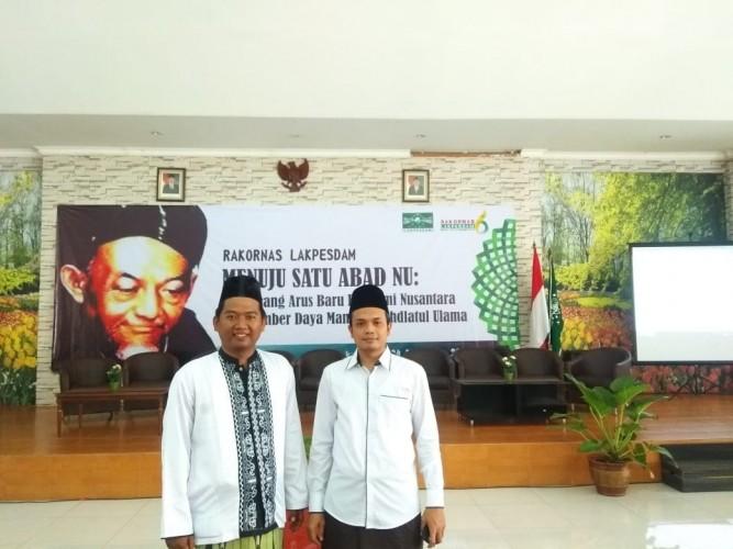 Lakpesdam PCNU Pringsewu Ikuti Rakornas di Bekasi