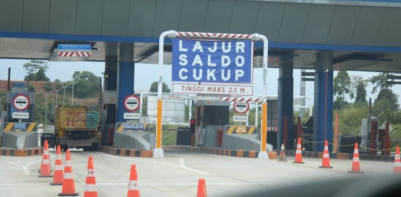 Lalu Lintas Gerbang Tol Kayu Agung Meningkat 33%