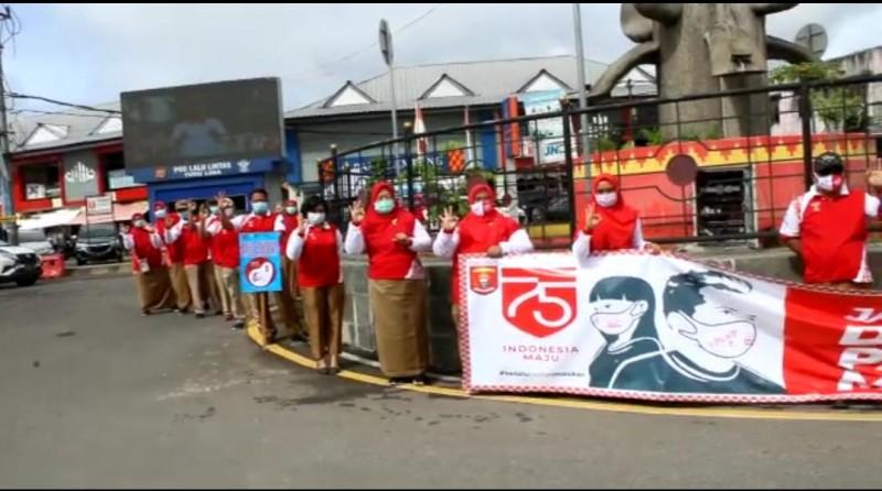 Lambar Dukung Target Three Zeroes HIV AIDS