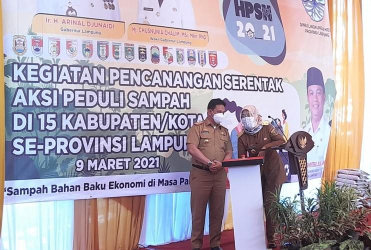 Lampung Akan Bangun TPA Regional dan PLTSa di Kotabaru