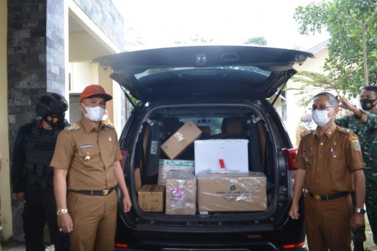 Lampung Barat Terima 2.440 Dosis Vaksin Sinovac