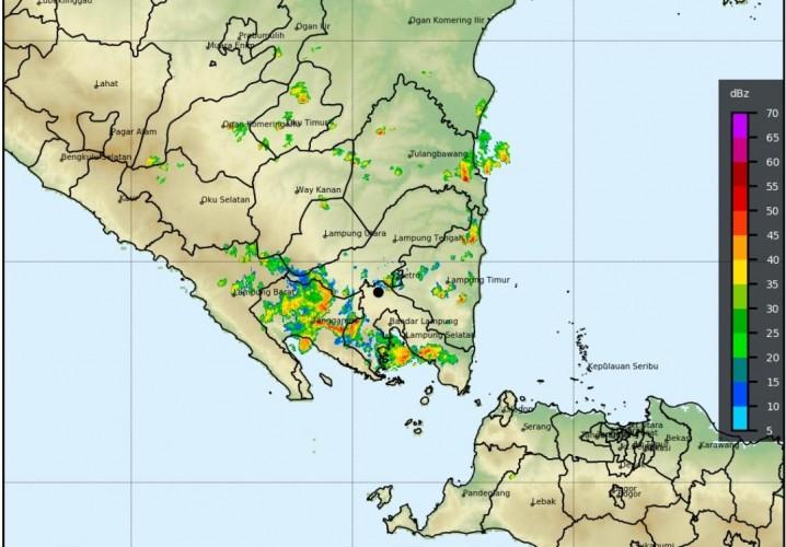 Lampung Berpotensi Hujan 3 Hari ke Depan