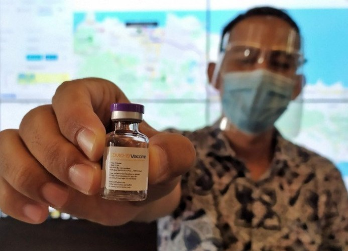 Lampung Butuh 12 Juta Dosis Vaksin