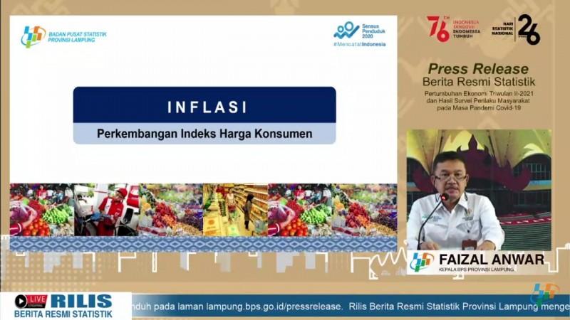 Lampung Deflasi 0,5%