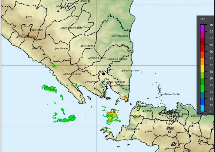 Lampung Diprakirakan Diguyur Hujan Tiga Hari ke Depan