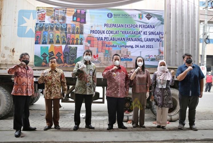 Lampung Ekspor Cokelat Krakakoa ke Singapura