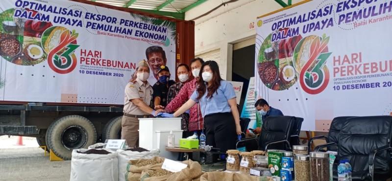 Lampung Ekspor Kopi dan Lada Senilai 33.2 Miliar ke 10 Negara