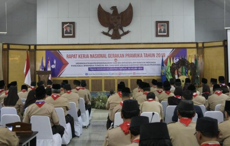 Lampung Ikuti Rakernas Gerakan Pramuka
