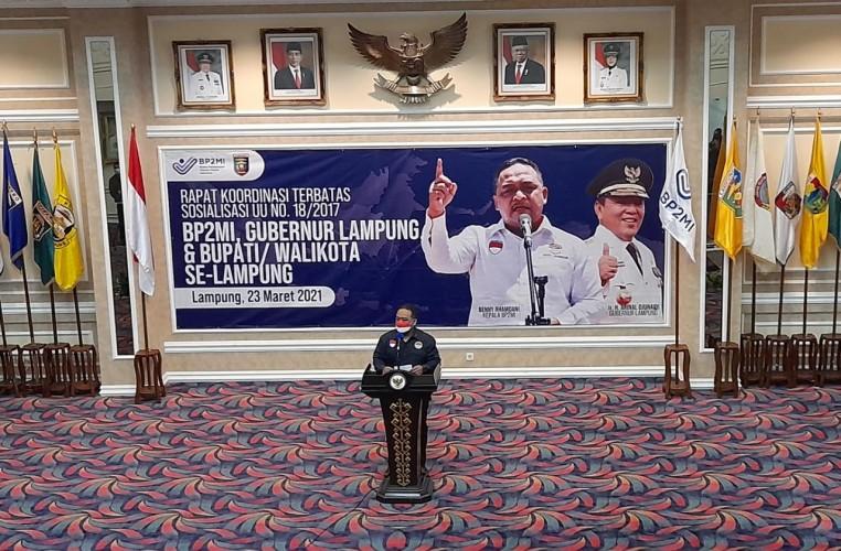 Lampung Jadi Daerah Terbesar Pengiriman Pekerja Migran
