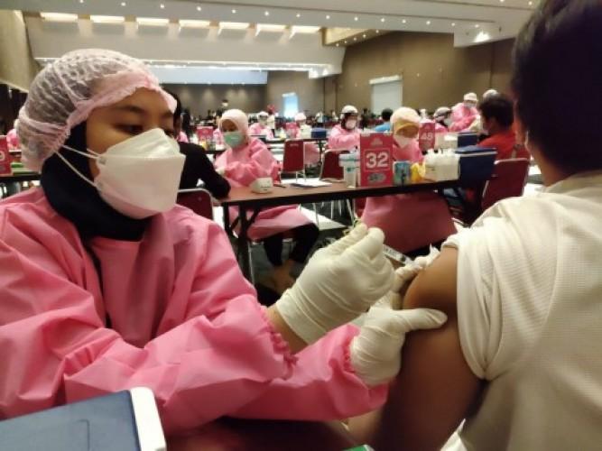 Lampung Kebut Vaksinasi di Semua Daerah