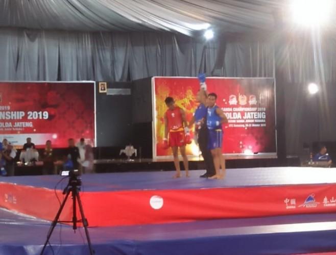 Lampung Loloskan Dua Atlet Wushu ke PON lewat Kejurnas
