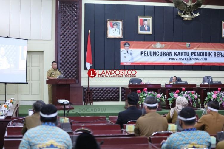 Lampung Luncurkan Kartu Pendidik Berjaya