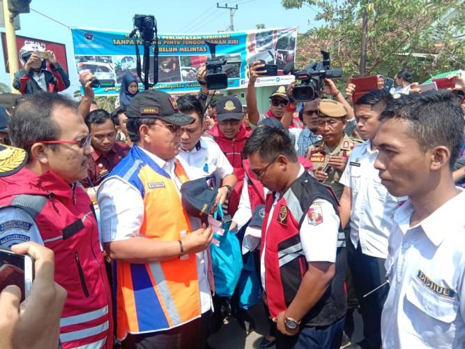 Lampung Kategori Tinggi Kecelakaan di Pelintasan KA