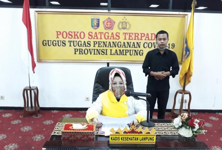 Lampung Matangkan Pergub Antisipasi Gelombang Kedua Covid-19