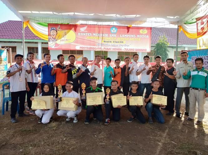 Lampung Motor Gelar Kontes Mekanik SMK