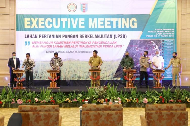 Lampung Pacu Lahan Pertanian Pangan Berkelanjutan
