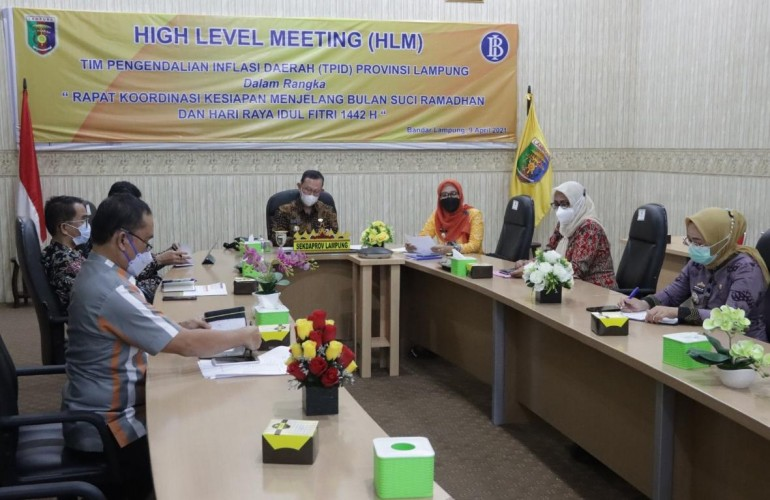 Lampung Pastikan Harga Pangan Jelang Ramadan Terjangkau