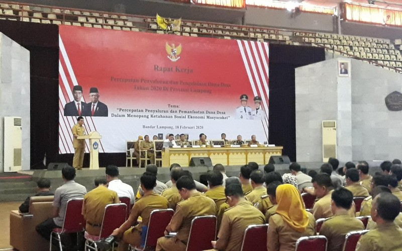 Lampung Percepat Pengelolaan Dana Desa