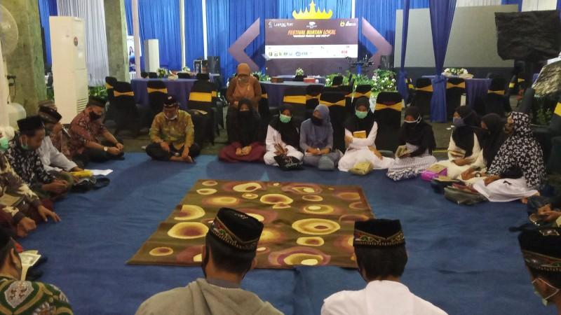 Lampung Post Gelar Khataman Alquran Bersama Santri Ponpes Baitussalam