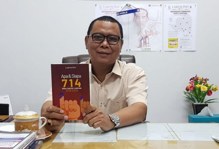 Lampung Post Luncurkan Buku Apa dan Siapa 714 Wakil Rakyat Lampung 2019-2024