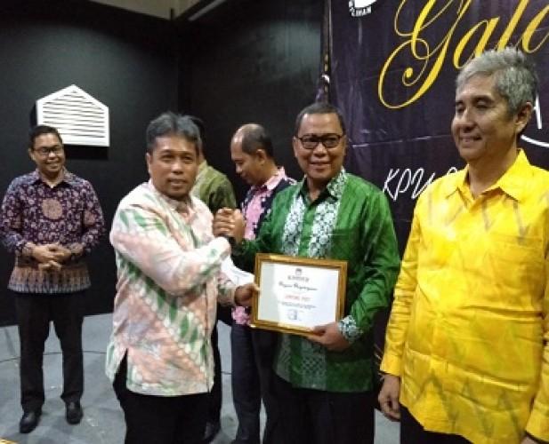 Lampung Post Terima Penghargaan dari KPU Bandar Lampung