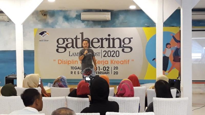 Lampung Post Terus Pupuk Disiplin dan Kerja Kreatif