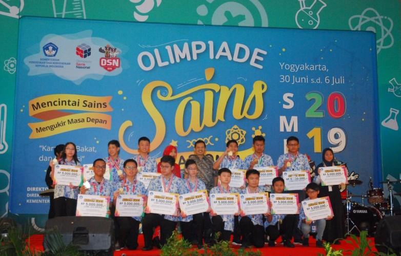 Lampung Raih 5 Perunggu dan 2 Perak di OSN SD dan SMP
