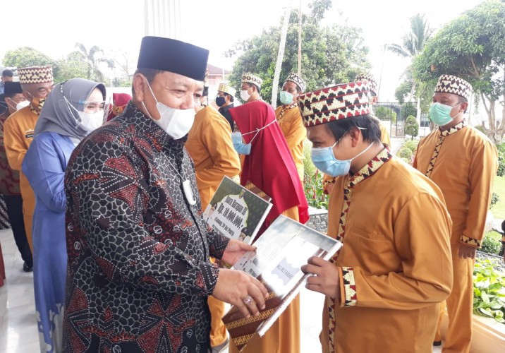 Lampung Raih Juara I Hafidz 10 Juz dan Juara 3 Qiraat Mujawwad di MTQ Sumbar