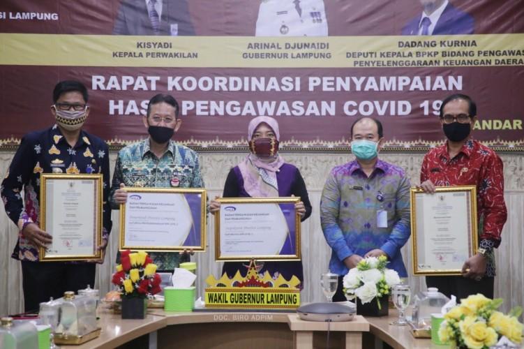Lampung Raih Maturitas SPIP dan Kapailitas APIP Level 3