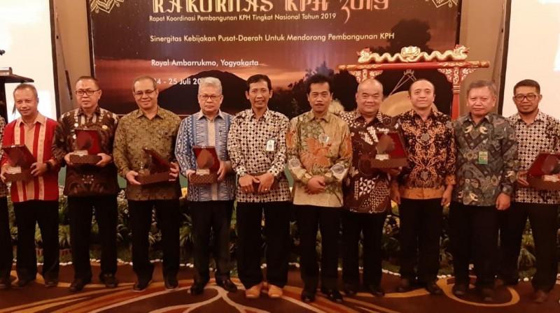 Lampung Raih Pengharagaan Pembangunan KPH
