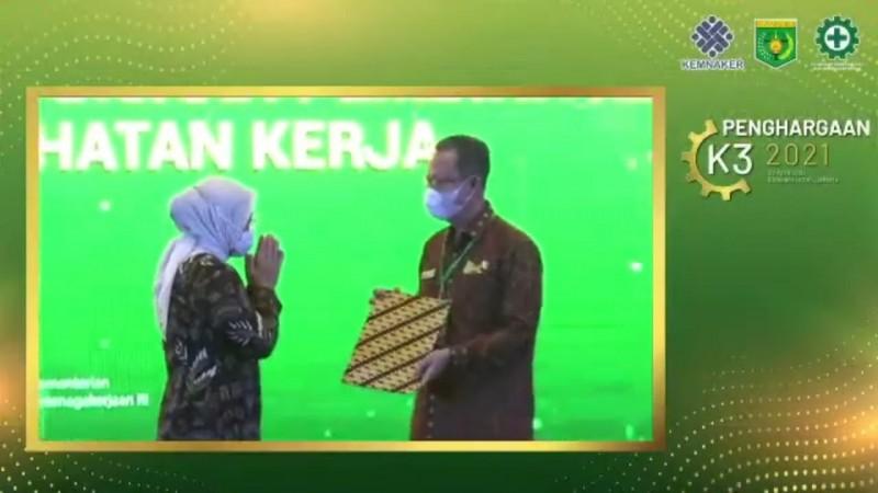 Lampung Raih Penghargaan Pembina K3